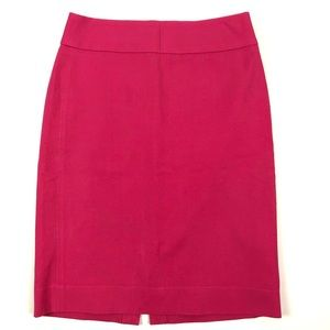 Banana Republic Coral Pink Pencil Skirt